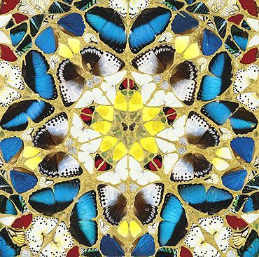 Damien Hirst. In and Out of Love. Details.