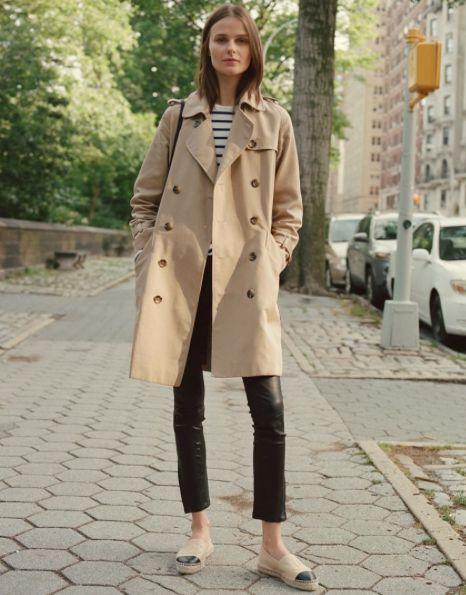 Beige / Nude trench