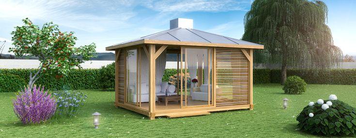 OUTZEN, gamme EXTAZE OUTDOOR, patios et pavillons de luxe | Extaze Outdoor
