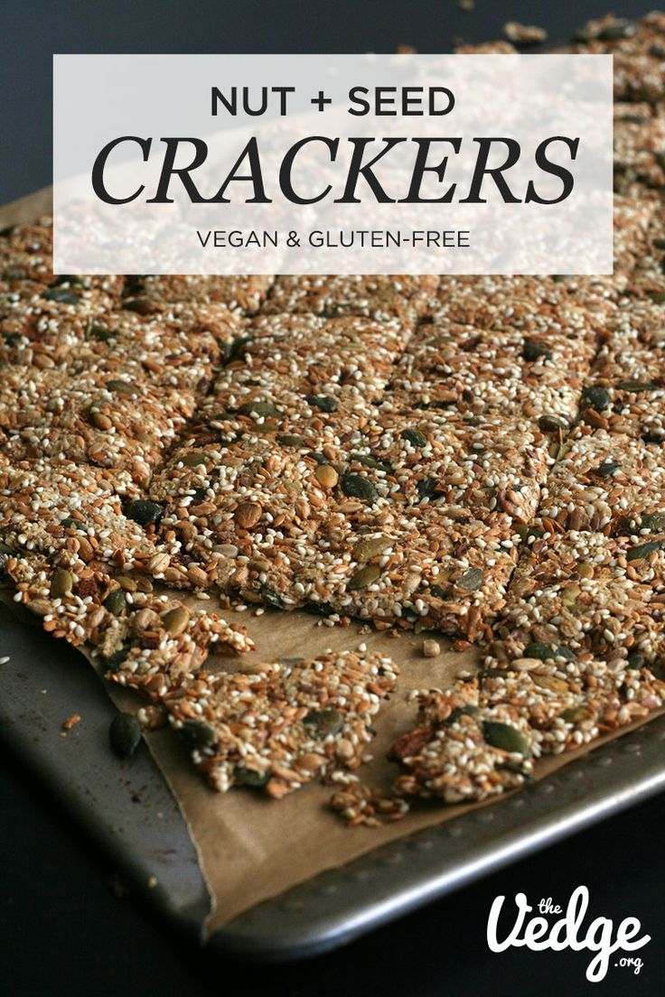 how to make seed crackers