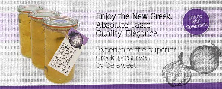 2* Great Taste Award Winner, Onions with Spearmint spoon sweet