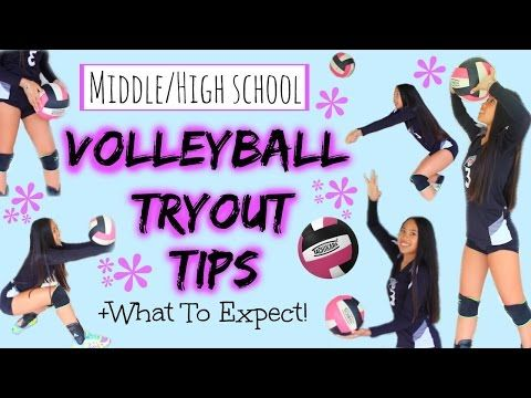 Varsity Volleyball Team Tryout Tips & Tricks - YouTube