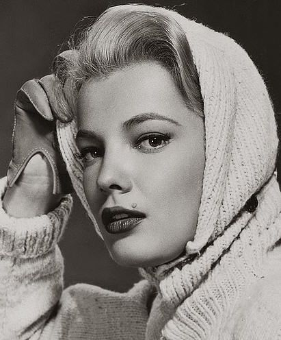 Gena Rowlands. The muse of John Cassavetes.
