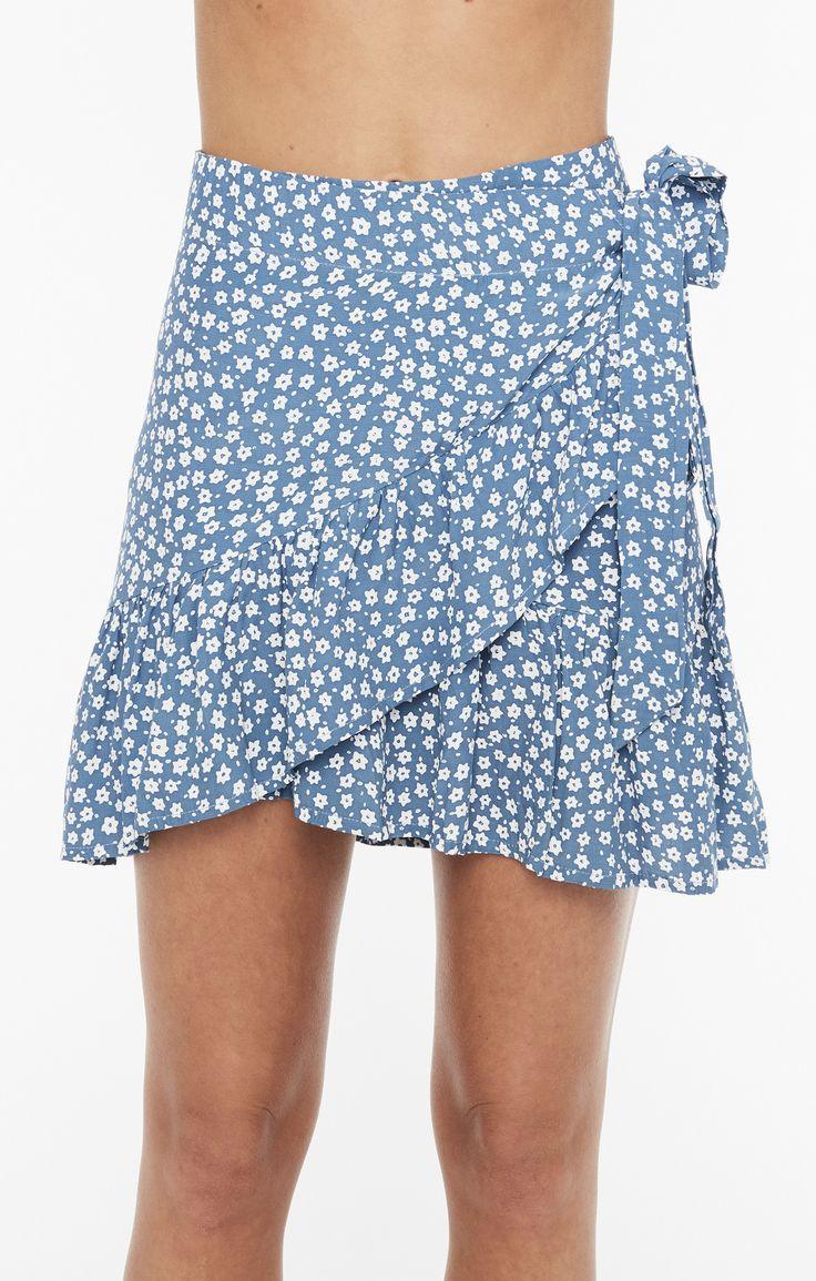 Faithfull The Brand - Gilda Skirt Sunny Floral Lightr Blue