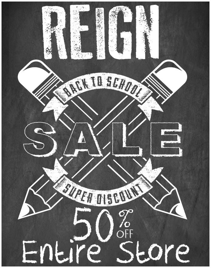 https://flic.kr/p/KXqva7 | REIGN- Back to School Sale | THE ENTIRE REIGN STORE IS ON SALE NOW!!!! 50% OFF FROM TODAY TILL…