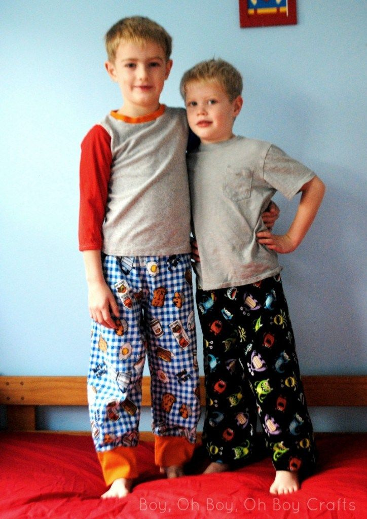 Flannel pajama pants are a great way to spice up one's winter pajama wardrobe.  I noticed recently that the boys were stepping up their nightly visits to mom and dad's bed.  It occurred to me, through my sleep interrupted brain, that they were still wearing their summer pajamas to bed at night.  Since these kids …