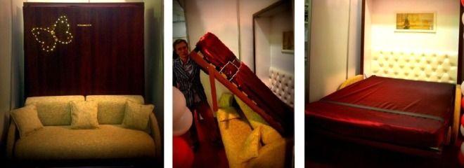 Купить мебель для спальни: кровать трансформер, шкаф кровать в Калиниграде. Диван-кровать, подъемная кровать, откидная кровать или вертикаль...