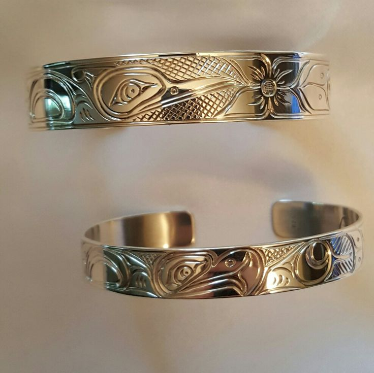 Native sterling silver braclets
