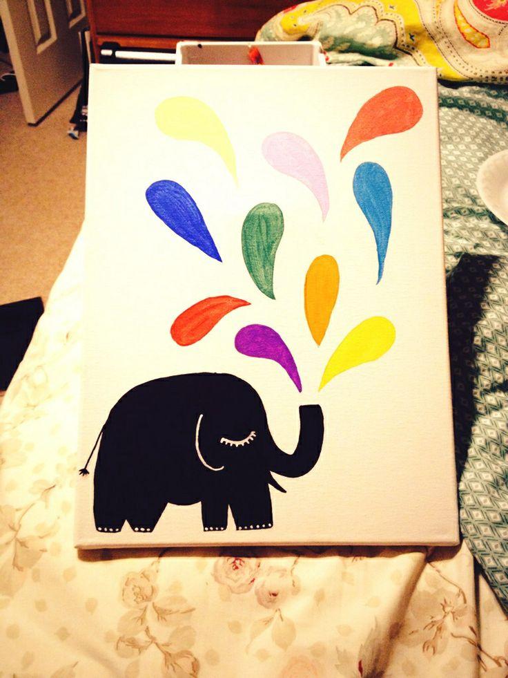 270 best Michaela\'s Canvas Art Ideas images on Pinterest   Painted ...
