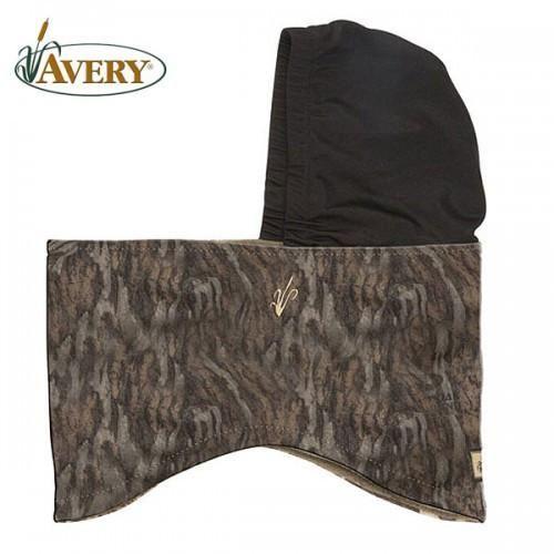 Pro Duck & Goose Hunting Supplies - Avery Fleece Turtle Head Mossy Oak Bottomland
