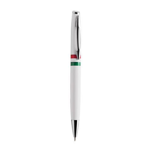 Penna tricolore con meccanismo a rotazione. Prezzo base €0,53. Ordine minimo 200 pezzi. Chiamaci allo 010/9111632 per ordinare! #italia #calcio #brasile2014 #mondiali