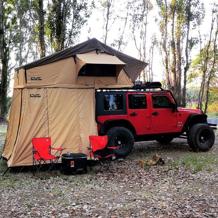 Largest Volvo Suv: Suv With Camping Tent