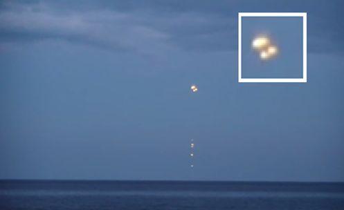 UFOLOGIA - OVNIS ONTEM: INCRÍVEL: UFOs sobre o Mar Báltico na Polônia