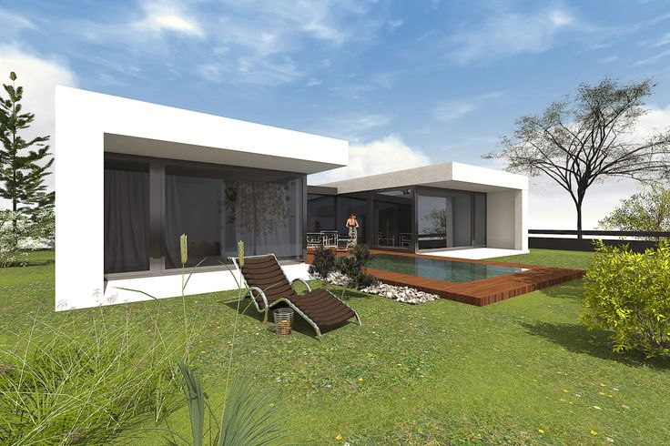 Haus Bauen, Architektur Und Moderne