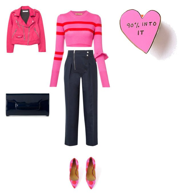 """Pink lovers"" by francystyling78 on Polyvore featuring moda, Maggie Marilyn, Paul Smith, Calvin Klein 205W39NYC, L.K.Bennett e MANGO"