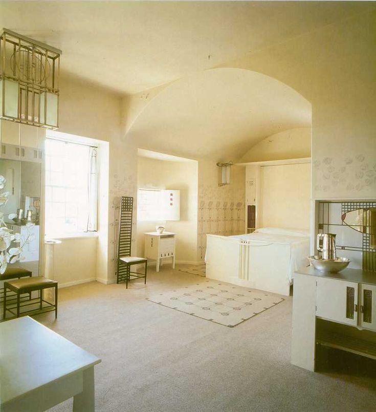 Hill House Bedroom Charles Rennie Mackintosh