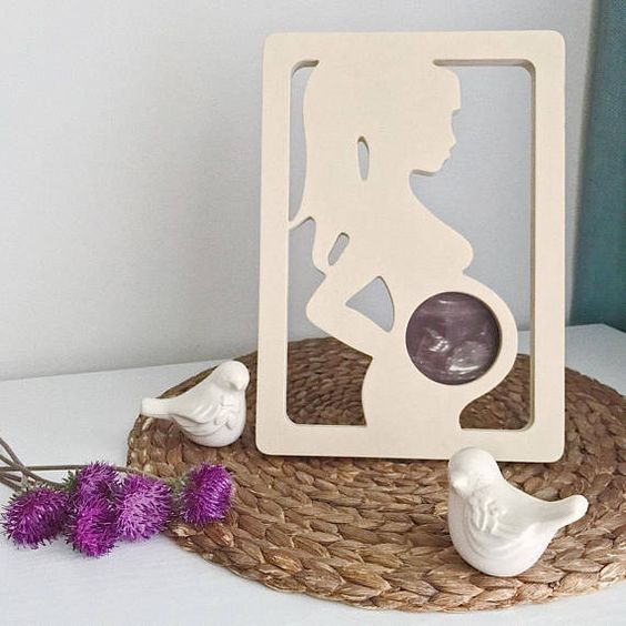 Valentine's Day Gifts for a Pregnant Wife, Gift Ideas, Valentine's Day, Ultrasound frame #sonogram #baby #pregnancy #maternity