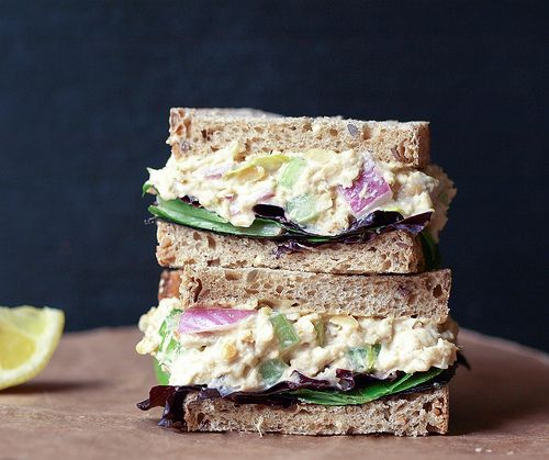 'Chickpea of the Sea' Salad Sandwich