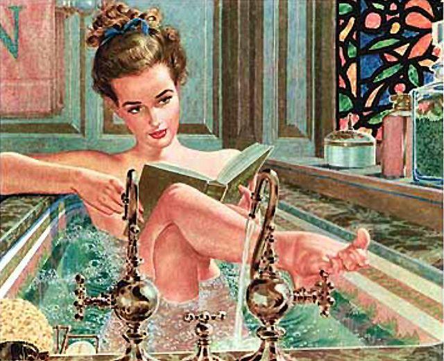 "Edwin Georgi (On my board ""Book reading II. Irit Volgel) by oldcarguy41 on Flickr"