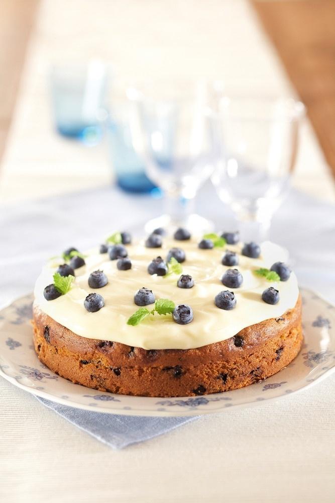 Helppo mustikkakakku | Kahvikakut | Pirkka #baking #cakes