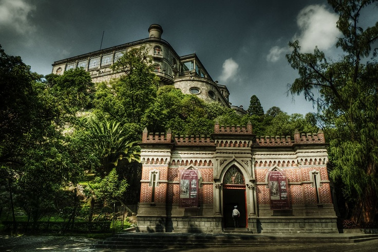 Chapultepec Castle- Mexico City  This and the Pyramids were my favorite part of the trip.