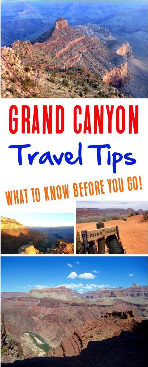 Grand Canyon!  Top hikes, outfits + what to wear, and hacks for your next south rim vacation! | NeverEndingJourneys.com