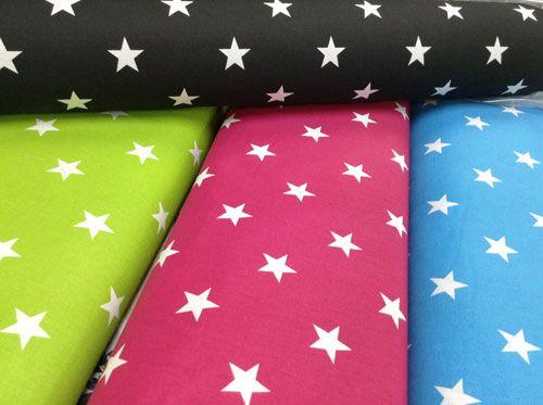 Näitä värejä tähtikangasta.. Trikoota.. Muutkin värit käy..