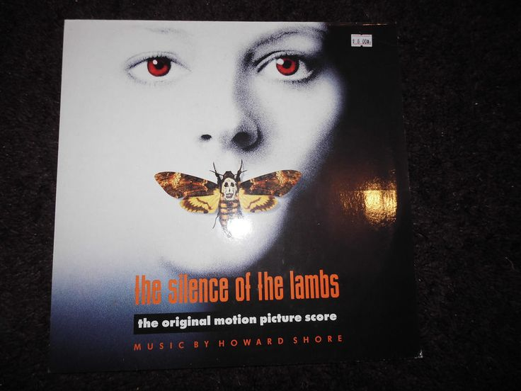 SILENCE OF THE LAMBS DAS SCHWEIGEN DER LÄMMER -VINYL NEAR MINT -
