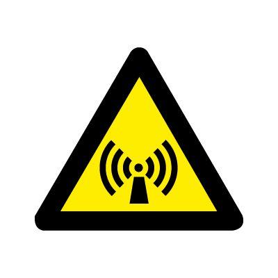 Ikke ioniserede stråler - Køb Advarselsskilte her