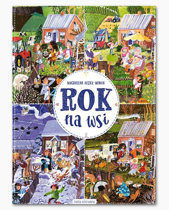 Rok na wsi - Natuli - księgarnia dla dzieci i rodziców