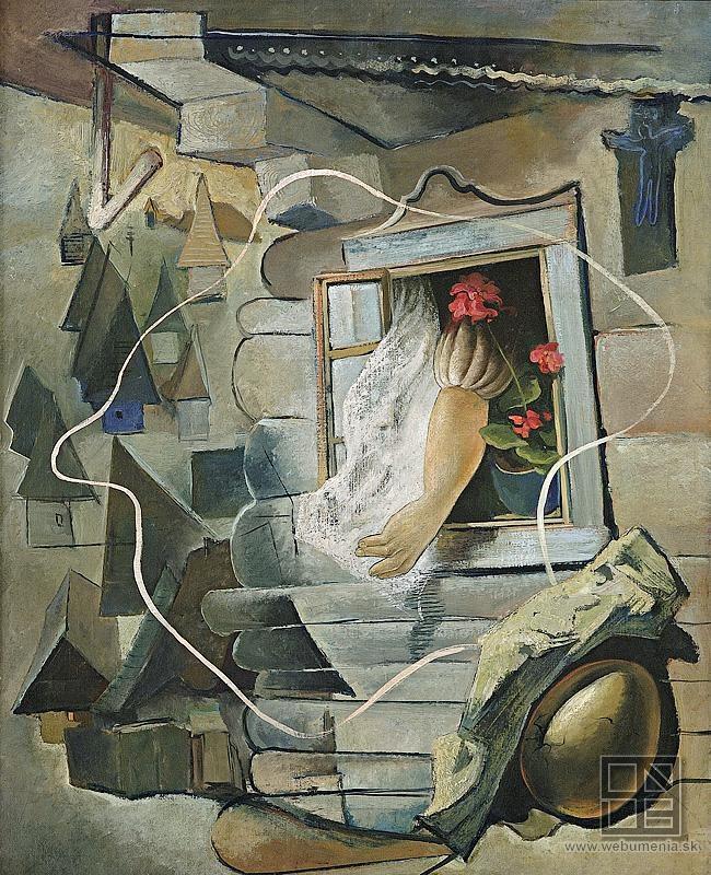 Imrich Weiner-Kráľ - A window / Okno (1925 - 1945)