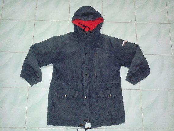 Vintage Polo Sport Ralph Lauren Jacket Coat 92 93 by sixstringent, $29.00