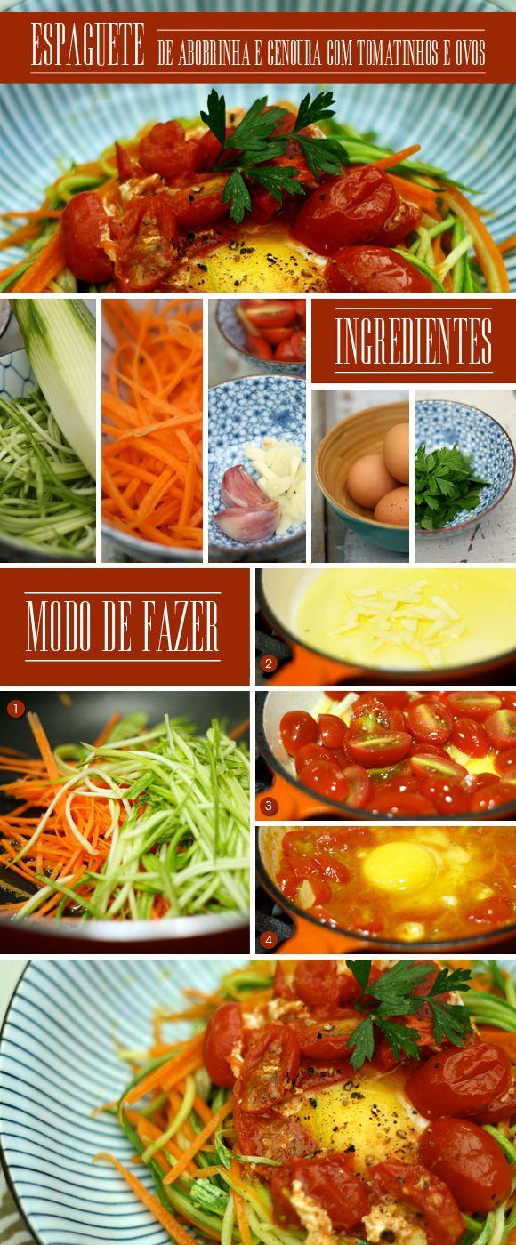 A chef Letícia Massula trocou a massa pela abobrinha e criou um prato delicioso e light. Essa receita é uma boa pedida para uma segundona. Vai aderir? Delícia!