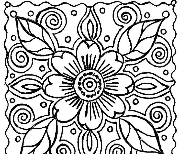 Abstract Flower Coloring Pagespin By Linda Sangiorgio On Crafty Flower Abstrac Printable Flower Coloring Pages Paisley Coloring Pages Abstract Coloring Pages