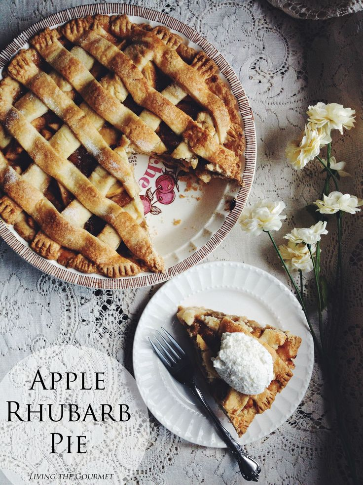 This Apple Rhubarb Pie is sweet and tart, but add a flaky crust and some fresh cream for something blissfully delightful. Summer isn't over yet! Savor the season's finest flavors in this fabulous pie. August, I welcome you. Chapter two of summer. I eagerly anticipate all that your sunny days have in store for me....Read More »