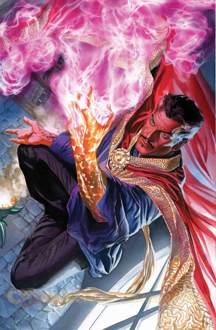 ©Alex Ross Doctor Strange