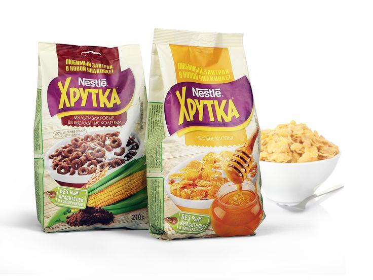 «Нестле Россия» и брендинговое агентство Depot WPF обновили упаковку бренда готовых завтраков для всей семьи ХРУТКА.