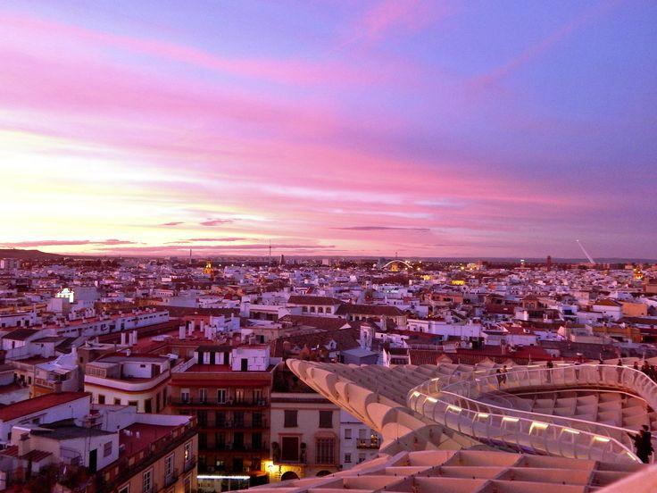 Sevilla, Sunset.