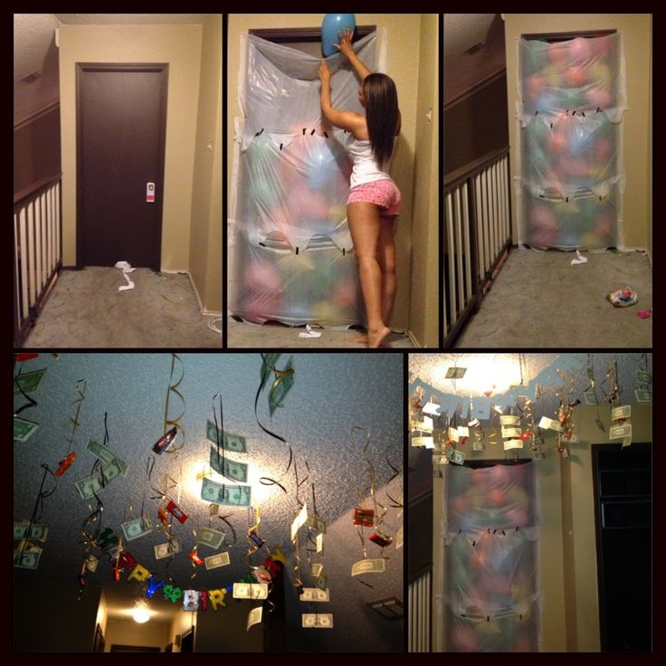 17 Best Birthday Surprise Ideas On Pinterest