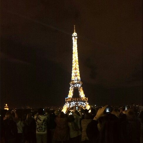 Day four: Nighty Tour Eiffel!!! It was incredible... i cried!!! #ParisByDay #ParisByNight
