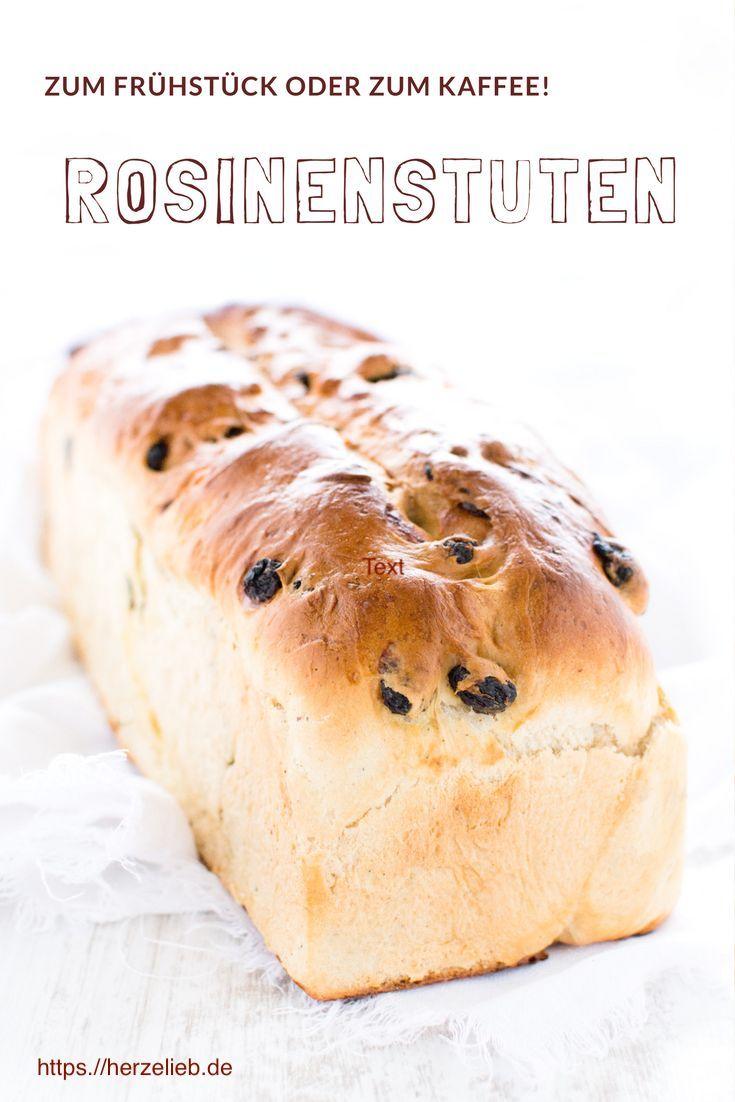 Brot Rezepte: Leckerer Rosinenstuten oder Rosinen Brot. Rezpt von herzelieb #deutsch #deutsch #foodblog #rezepte #foodblogger
