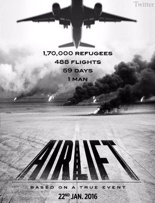 """FREE MOVIE """"Airlift 2016""""  HD BDRip link to view 480p trailer MKV 720p"""