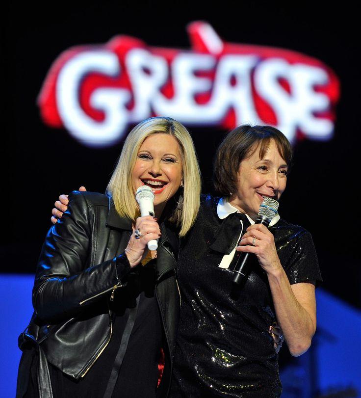 Grease Reunion! Olivia Newton-John & Didi Conn, aka Sandy & Frenchy, Perform in Las Vegas—See the Photos!