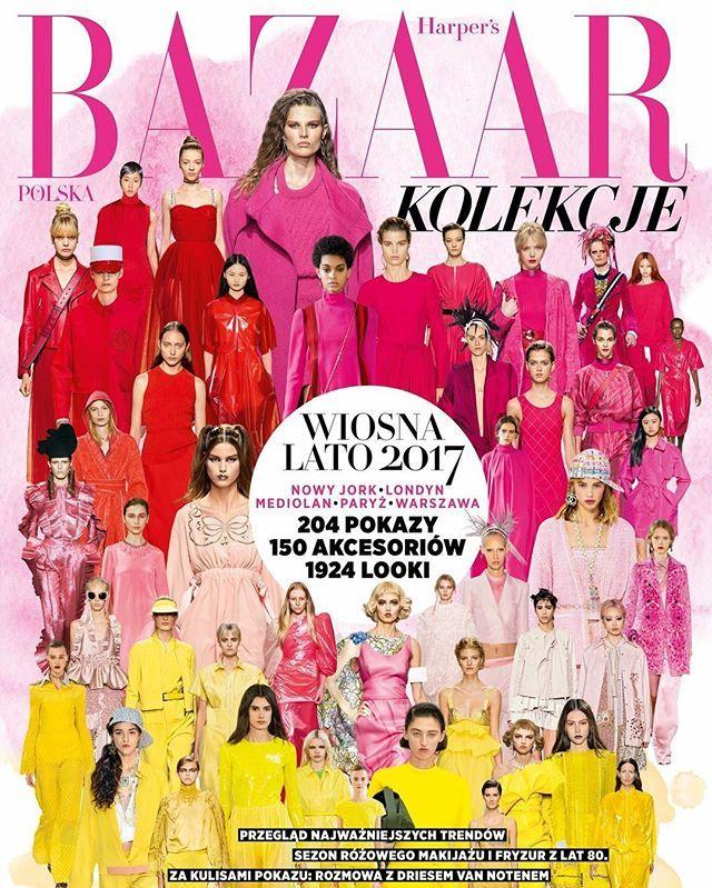 Już od dziś w sprzedaży nasz numer specjalny! @harpersbazaarpolska Kolekcje wiosna-lato 2017 to prawdziwe kompendium wiedzy.  Znajdziecie w nim najważniejsze trendy najlepsze pokazy najbardziej pożądane akcesoria najgorętsze nazwiska najpiękniejsze makijaże i fryzury oraz wiele wiele więcej! Dowiecie się jak wygląda dzień najsłynniejszej polskiej stylistki @joannahelenahorodynska zajrzycie za kulisy show @driesvannoten poznacie sekrety urody modelek oraz must have na nowy sezon…