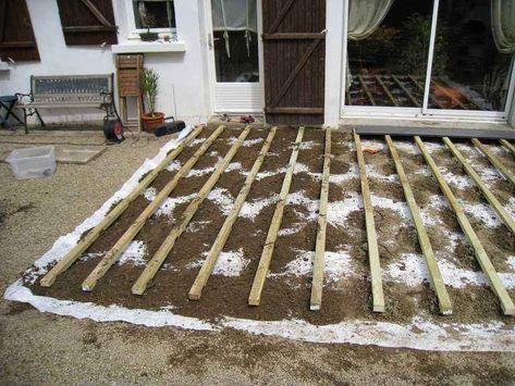 Wie Man Eine Zusammengesetzte Terrasse Auf Balken Und Bolzen Setzt Auf Balken Bolzen Eine Man Setzt Terrasse Terrassecomposite Und Wie Zusammengese