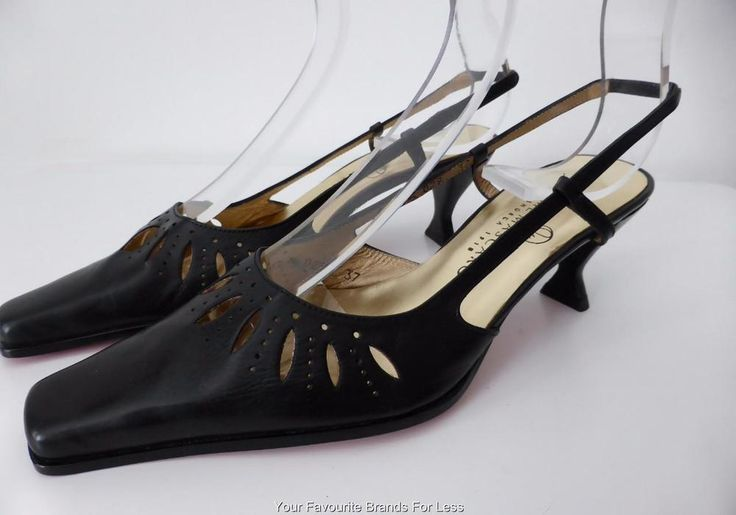 JAIME MASCARO  Slingback Shoes Made in Spain Size 37 AU/US 6 UK 4 rrp AU $287.00 #JaimeMascaro #Slingbacks