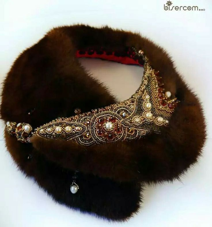 fur collar/necklace