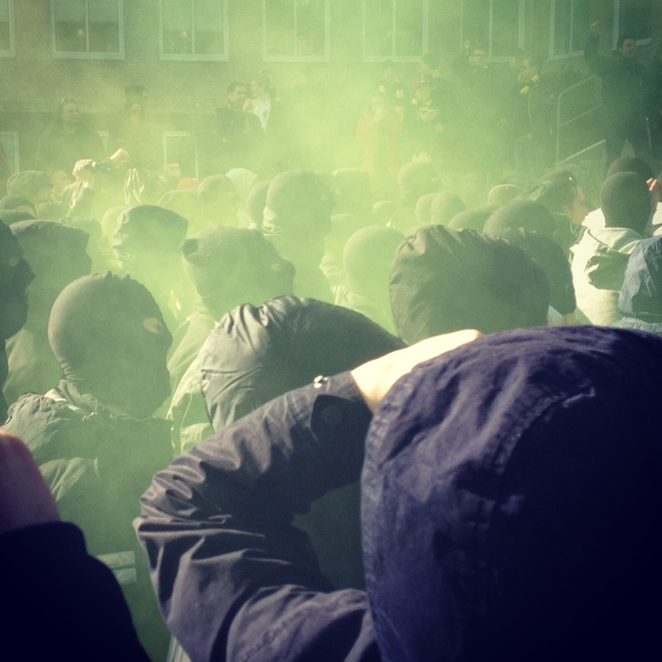 The Invasion of Borås 2013. Premiere of Allsvenskan. #AIK