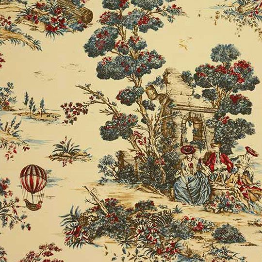 Decorating Ideas Toile Fabric: 1000+ Images About French Fabrics On Pinterest