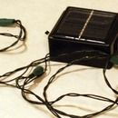 Step 0: Make your own solar powered led string lights.  ($5 bucks max)